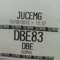 Photo taken at Junta Comercial do Estado de Minas Gerais - JUCEMG by Anna D. on 6/13/2012