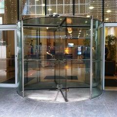 Photo taken at Clayton Hotel by Tristan N. on 9/10/2012
