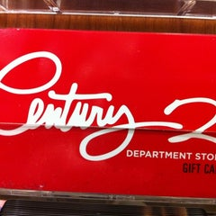 Photo taken at Century 21 Department Store by Sacha M. on 12/20/2010