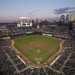 Photo taken at Target Field by Demian B. on 10/18/2011
