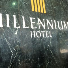 Photo taken at Millennium Hotel by Joey Z. on 4/3/2012