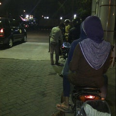 Photo taken at ATM Mandiri SPBU Juanda by Fadly E. on 4/14/2012