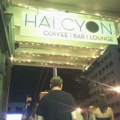 Photo taken at Halcyon Coffee, Bar & Lounge by John B. on 9/3/2011
