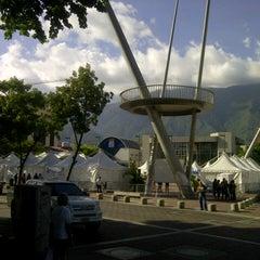 Photo taken at Plaza Alfredo Sadel by José Rafael F. on 7/29/2012