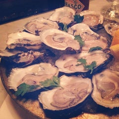 Photo taken at Pearl Oyster Bar by Julie Q. on 12/7/2011