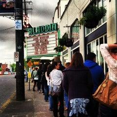 Photo taken at Aladdin Theater by Jeri B. on 5/1/2012