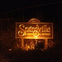 Photo taken at Springville Mill Apartments by Matthew T. on 3/9/2012