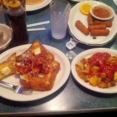 Photo taken at Landmark Diner by Michael K. on 7/4/2012