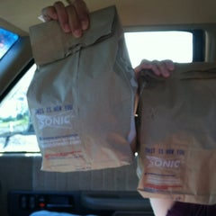 Photo taken at SONIC Drive In by Luke O. on 5/2/2012