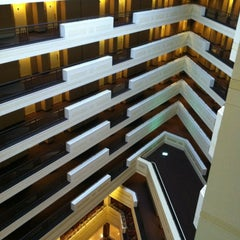 Photo taken at Sheraton Springfield at Monarch Place by Katie F. on 6/28/2012