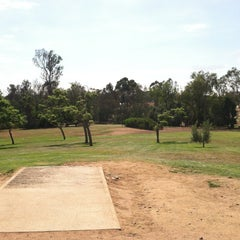 Photo taken at Morley Field Disc Golf Course by Noah W. on 8/22/2012