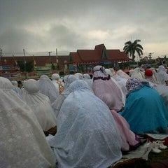 Photo taken at Lapangan Merdeka by Rizki F. on 8/19/2012