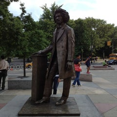 Photo taken at Frederick Douglass Circle by Thadon0429 on 5/16/2012