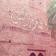 Photo taken at Restaurant Marrakesh by James B. on 10/17/2011