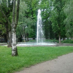 Photo taken at Parco Renzo Rivolta by Emiliano L. on 5/6/2012