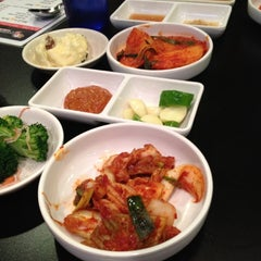 Photo taken at Honey Pig Gooldaegee Korean Grill by Jon on 4/8/2012