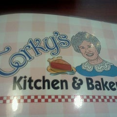 Photo taken at Corky's Kitchen & Bakery by Nick T. on 1/6/2012
