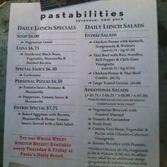 Photo taken at Pastabilities by Sara B. on 5/18/2012