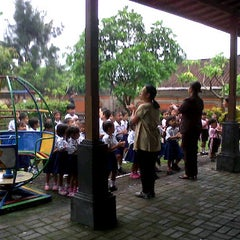 Photo taken at PAUD/TK Pradnyan Mumbul Nusa Dua by Yan m. on 1/3/2012