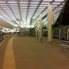 Photo taken at Metrostation Rotterdam Centraal by Iemco K. on 1/13/2012