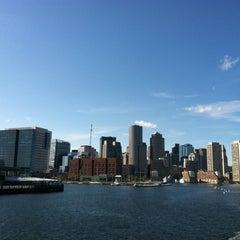 Photo taken at Boston Harbor Cruises by Whitney K. on 10/17/2011