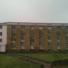 Photo taken at Soweto Hostels by Emmanuel C. on 7/13/2011