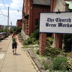 Photo taken at The Church Brew Works by orbaddict on 6/16/2012