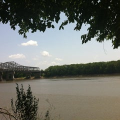 Photo taken at Missouri River by Mary K. on 7/3/2012