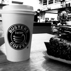 Photo taken at Busters Coffee by jovi b. on 5/16/2011