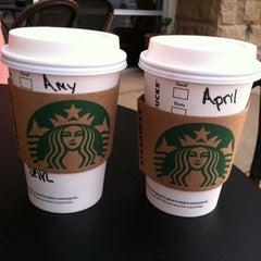 Photo taken at Starbucks by April C. on 8/17/2012