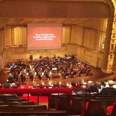 Photo taken at Powell Hall by Kristy R. on 12/30/2010