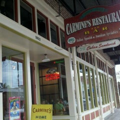 Photo taken at Carmine's by Jodi M. on 10/28/2011