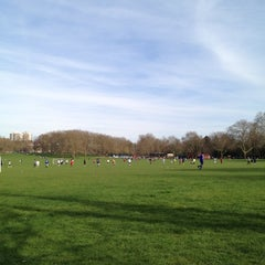 Photo taken at Peckham Rye Common by James W. on 3/25/2012