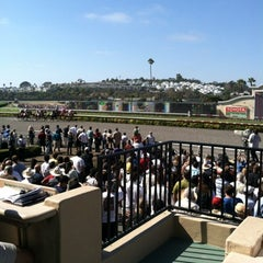 Photo taken at Del Mar Racetrack by Jarrel L. on 7/29/2012