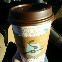 Photo taken at Caribou Coffee by Ali S. on 8/21/2012