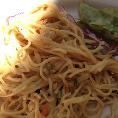 Photo taken at Café Bernardo Midtown by Mira on 8/26/2012