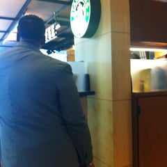 Photo taken at Starbucks by Benji I. on 3/21/2012