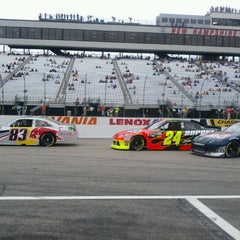 Photo taken at New Hampshire Motor Speedway by Michele P. on 9/24/2011