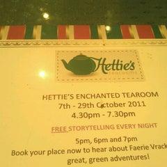 Photo taken at Hettie's Tearooms by Asim I. on 10/23/2011
