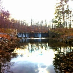 Photo taken at Pocahontas State Park by Dwight S. on 2/1/2012