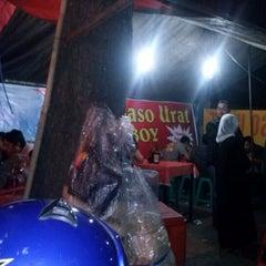 Photo taken at Baso Pak Oboy by Yopie S. on 7/28/2012