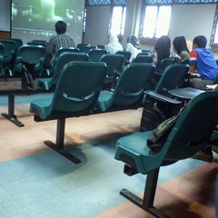 Photo taken at Faculty of Geoinformation and Real Estate by abdul hadi a. on 3/17/2012