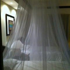 Photo taken at Sheraton Bandara Hotel by Heekyung K. on 6/4/2012