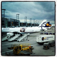 Photo taken at Concourse A by Claus W. on 5/9/2012