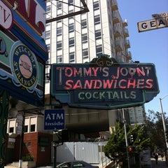 Photo taken at Tommy's Joynt by Michael A. on 4/28/2012