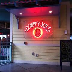 Photo taken at Sloppy Joe's by James W. on 6/9/2012