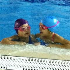 Photo taken at Polisport Stadio del Nuoto by Nico M. on 5/14/2012
