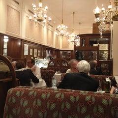 Photo taken at Café Mozart by Alessandra V. on 6/5/2012
