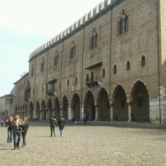 Photo taken at Palazzo Ducale by Enrico T. on 3/17/2012