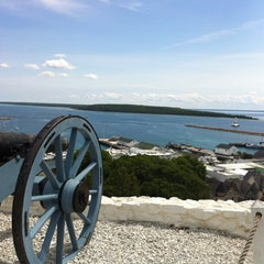 Photo taken at Fort Mackinac by Ed on 8/8/2012